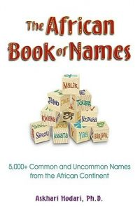 Rita Reviews:  THE AFRICAN BOOK OF NAMES.  What's Yours?