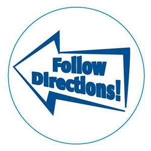 Follow Directions! (Rewind)